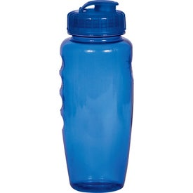 Polyclear Gripper Bottle for Marketing