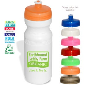 Eco-Safe Large Water Bottle Printed with Your Logo