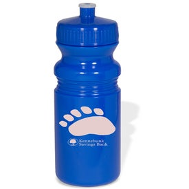 Logo Eco-Safe Small Water Bottle