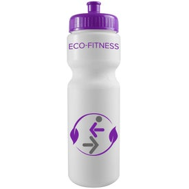 Spill-Resistant Sport Bottle with Your Logo