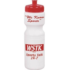 Spill-Resistant Sport Bottle with Your Slogan
