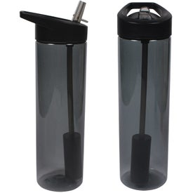 MS Filter Bottle with Flip Straw Printed with Your Logo