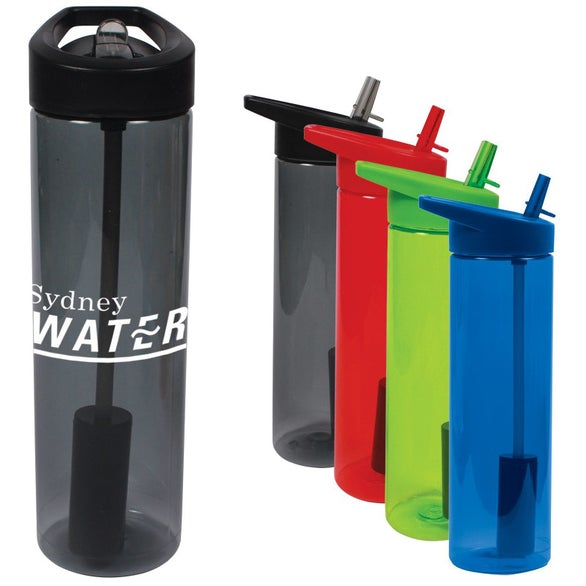 MS Filter Bottle with Flip Straw