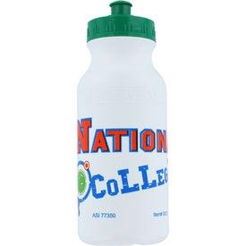 Logo Pacifica Fitness Bottle