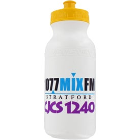 Pacifica Fitness Bottle Branded with Your Logo