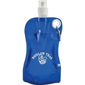 Promotional Flat Snap Bottle