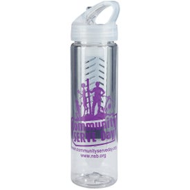 Imprinted Flavor Mate Infuser Plastic Bottle