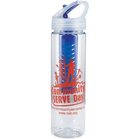 Flavor Mate Infuser Plastic Bottle (25 Oz.)