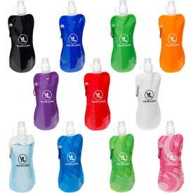 Flex Water Bottle with Carabiner (16 Oz.)