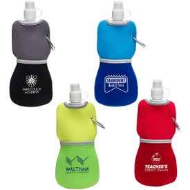 Flex Water Bottle With Neoprene Insulator (16 Oz.)