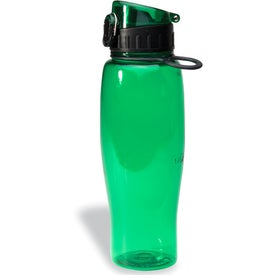 Flip Top Bottle Imprinted with Your Logo