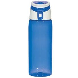 Printed Flip Top Sports Bottle