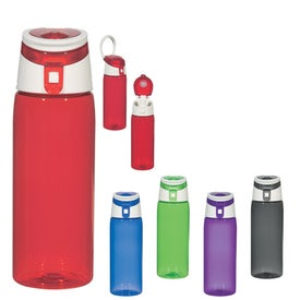 Flip Top Sports Bottles (24 Oz.)