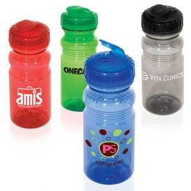 Flipper Translucent Bottle Giveaways