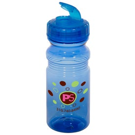 Printed Flipper Translucent Bottle