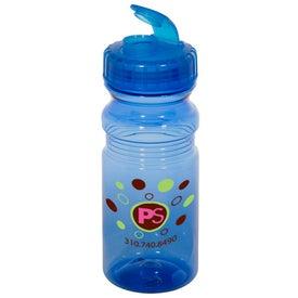 Printed Flipper Translucent Bottle
