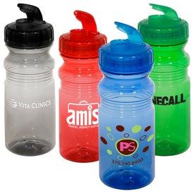 Flipper Translucent Bottle for Your Organization
