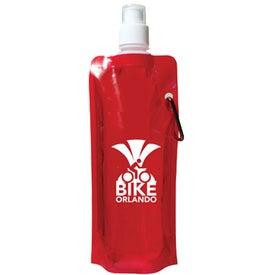 Custom Folding Water Bottle