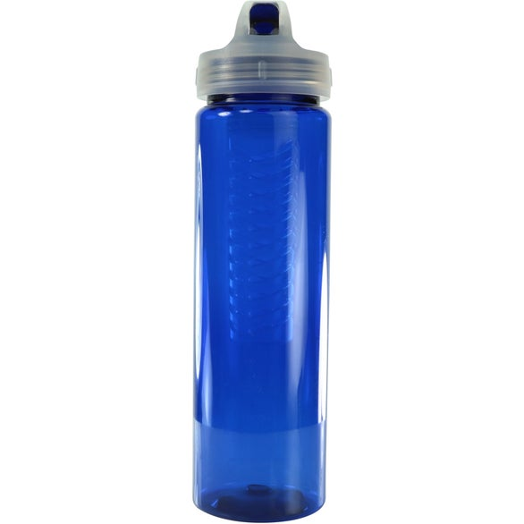 Translucent Navy Fruit Fusion Bottle