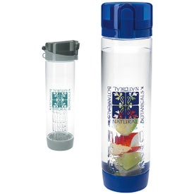 Fruit Infuser Bottom Sport Bottle (20 Oz.)