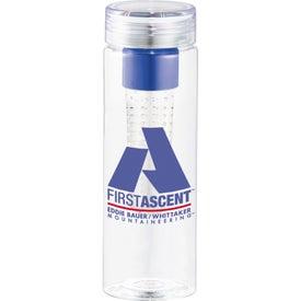 Imprinted Fruiton BPA Free Infuser Bottle