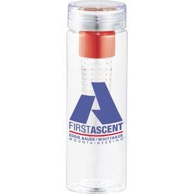 Customized Fruiton BPA Free Infuser Bottle