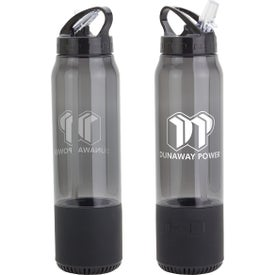 Fusion Water Bottle and Wireless Speakers (22 Oz., 300 mAh)