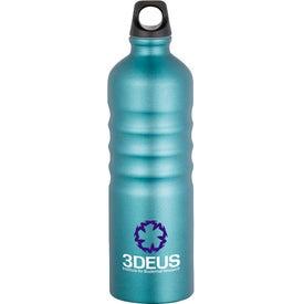 Custom Gemstone Aluminum Sport Bottle