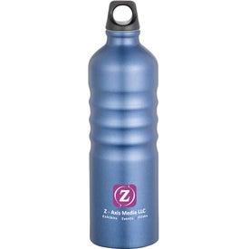Monogrammed Gemstone Aluminum Sport Bottle