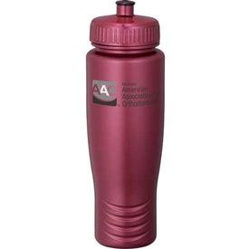 Gemstone Squeezy Sports Bottle for Customization