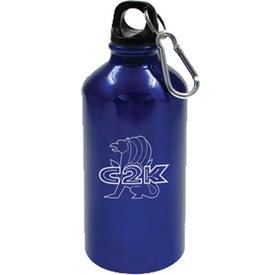 Geo Aluminum Bottle with Your Logo