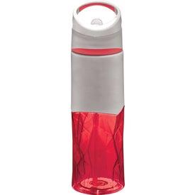 Geometric BPA Free Sport Bottle (28 Oz.)