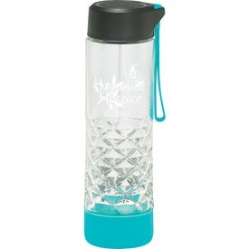 Geometric Glass Bottle (20 Oz.)
