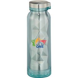 Geometric Stainless Sport Bottle (16 Oz.)