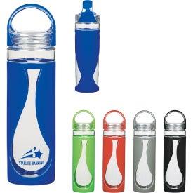 Glass Teardrop Bottle (17 Oz.)
