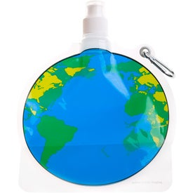 HydroPouch! Global Collapsible Water Bottle Printed with Your Logo