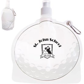 HydroPouch! Golf Ball Collapsible Water Bottle (24 Oz.)