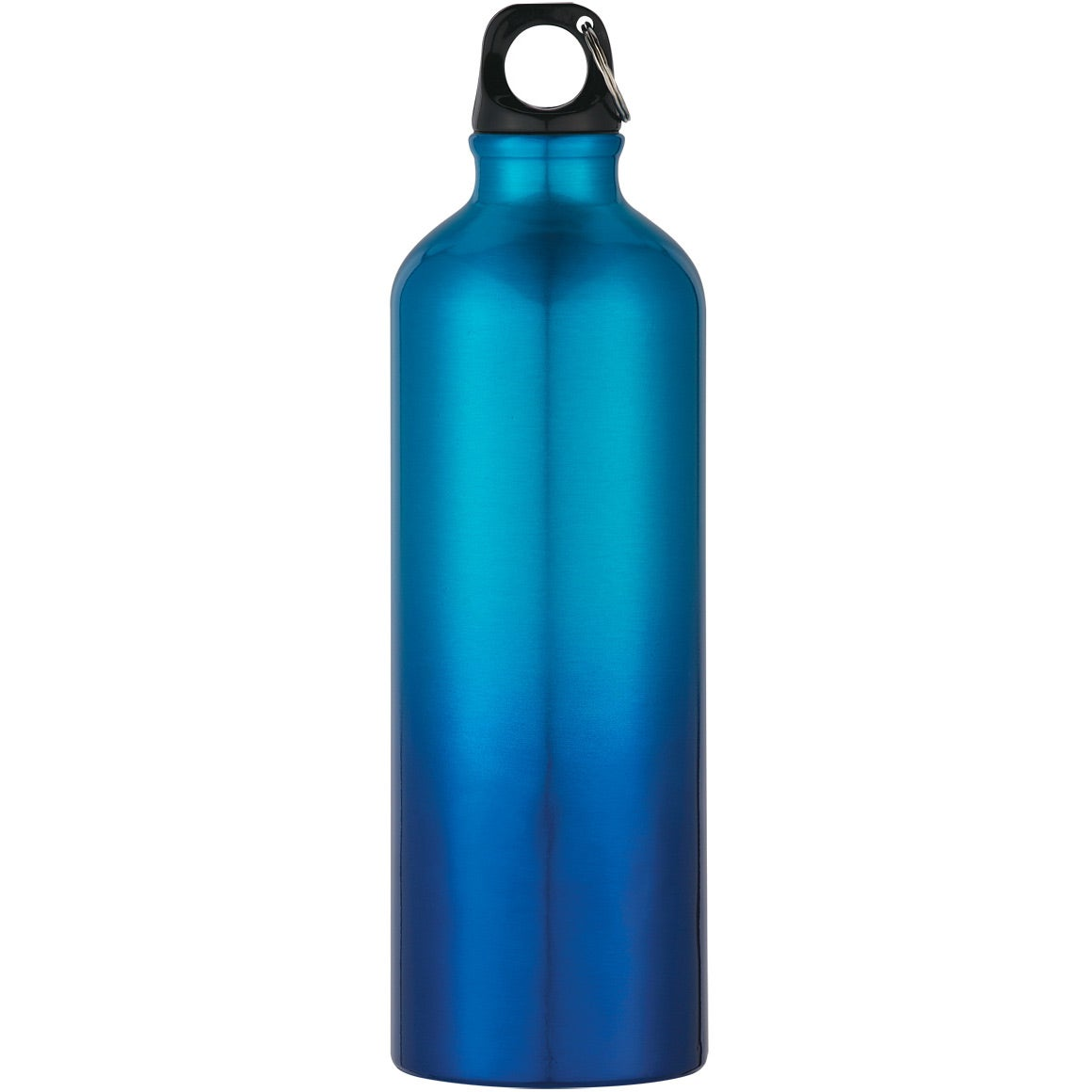Gradient aluminum bike bottle 25 oz personalized for Floor 9 water bottle