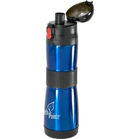 Custom Grip Insulated Water Bottle