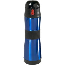 Grip Insulated Water Bottle with Your Slogan