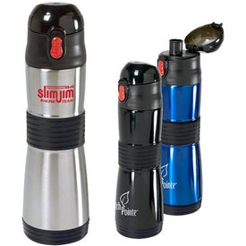 Grip Insulated Water Bottle (15 Oz.)