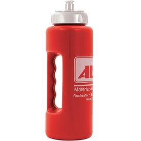 Grip Bottle with Push 'n Pull Cap for Your Organization