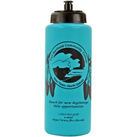 Grip Bottle with Push 'n Pull Cap for Customization