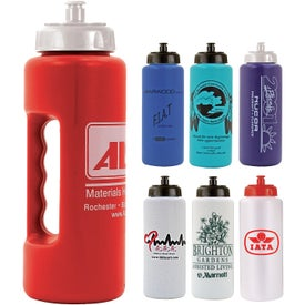 Grip Bottle with Push 'n Pull Cap
