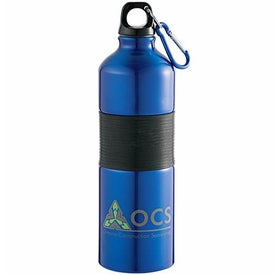 Promotional Gripper Aluminum Bottle