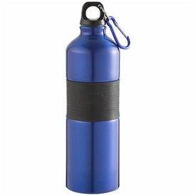 Branded Gripper Aluminum Bottle