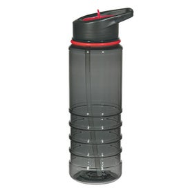 Gripper Bottle With Straw for Promotion