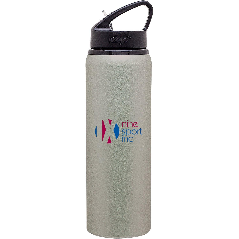 Water Bottle Personalised: H2go Allure Aluminum Water Bottle (28 Oz.)
