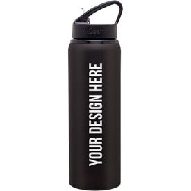 h2go Allure Aluminum Water Bottle (28 Oz.)