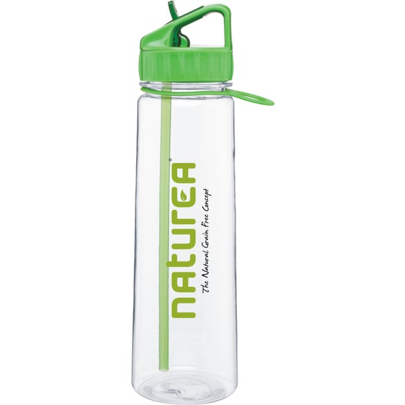 Clear / Apple h2go Angle Water Bottle